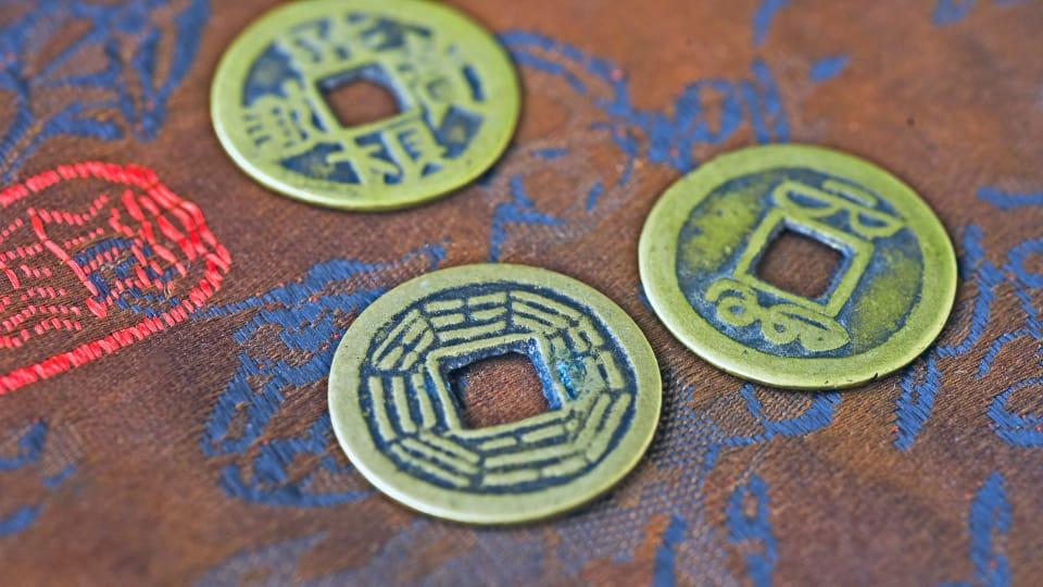 Monedas IChing